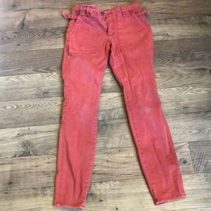 Pilcro cargo pants from Anthro